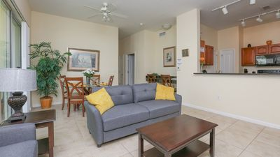 Photo for Fireworks Lake View Luxury  3BR with Elevator Disney Area