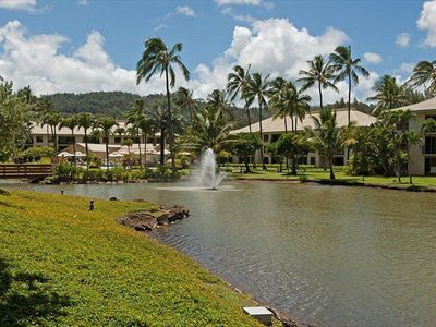 Photo for Kauai Beach Villas, 2 Bedroom, 2 bath, sleeps 6, Available Dec. 11 - 18, 2015