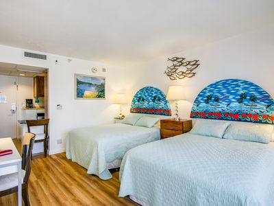 Photo for BEAUTIFUL & WELL LOCATED at AQUA PALMS - WAIKIKI
