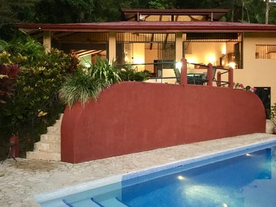 Photo for Casa Toucan, Secluded Jungle Setting with Ocean View & 40 foot Pool