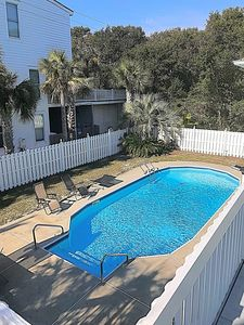 Photo for Isle of Palms Vacation Perfection! just Steps from the Beach! with private pool!
