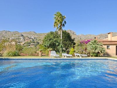 Photo for The lovely finca TONINA is situated in front of a wonderful mountain panorama wi