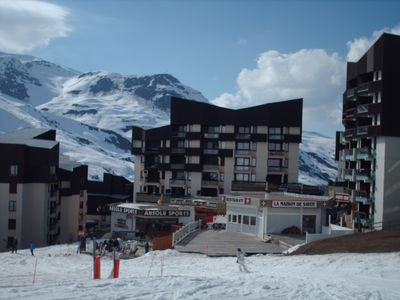 Photo for 1BR Apartment Vacation Rental in Les Ménuires