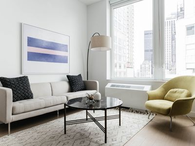 Photo for Sleek 1BR in FiDi by Sonder
