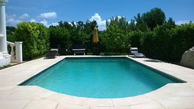 Photo for Independent apartment 2 rooms in a house with swimming pool