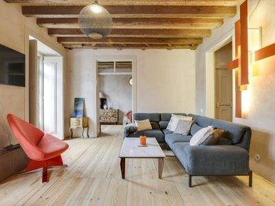 Photo for Stunning apartment in the heart of Lisbon