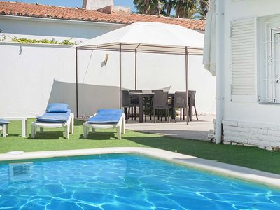 Photo for Exclusive 3 bedroom villa in Cambrils. Private pool. 250m beach