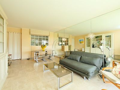 Photo for Apartment 979 m from the center of Cannes with Lift, Parking, Internet, Washing machine (108983)