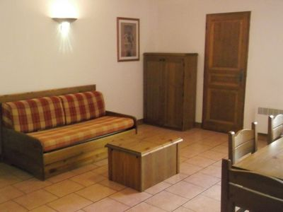 Photo for Three rooms 8 pers. CHALET D'ORCIERES residence in Orcières Merlette - Southern Alps