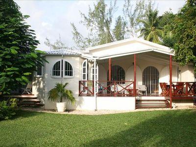 Mullins Bay House - set in an acre of tropical gardens