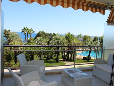 Photo for Beautiful apartment T3, panoramic sea view, terrace
