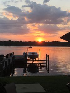 Photo for Waterfront home on the Magothy River. Perfect for familyi vacation.