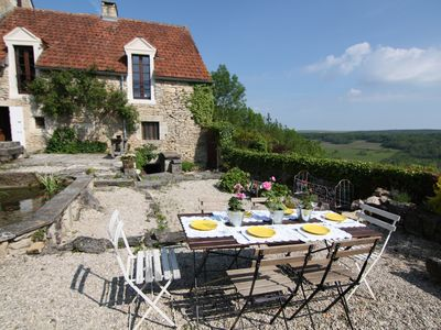 Photo for Recently renovated 17th c. stone house seen on House Hunters International.
