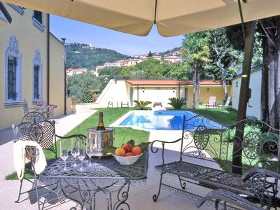 Photo for VILLA BYRON Luxury Retreat w Pool, A / C, Free WiFi, Park near to CINQUE TERRE