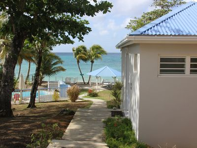 Photo for Direct access to the beach Luxury villa with white sand, Sainte Luce Martinique