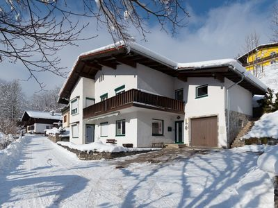 Photo for Large apartment with south terrace, in a hiking and skiing region