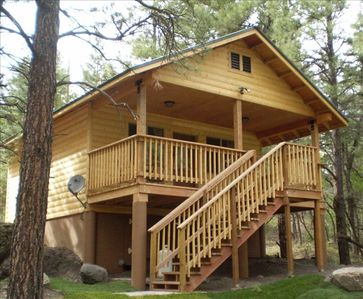 Photo for Ouray Caretaker's Riverfront Cabin CLOSED TIL 2020