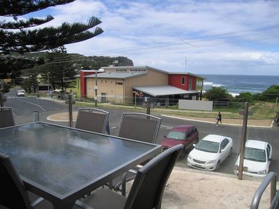 View from balcony looking to Surf Clubhouse