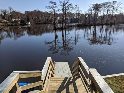 Photo for The Gosling - Small Cabin with Water Access, Shared Dock, Kayak, Fish, Swim