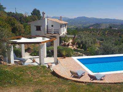 Photo for For a quality place near Granada, large swimming pool