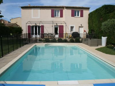 Photo for Beautiful villa 6-8 pers, swimming pool, 10 min Aix en Pce, ideal for family and children
