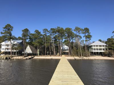Photo for 3 Bedroom/3 Bath Family Friendly Cottage With Wharf on Mobile Bay