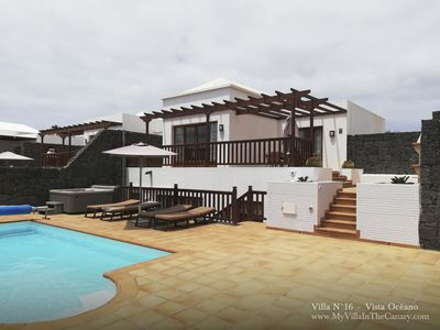 Photo for luxury villa with Private Heated Pool: Villa Vista Oceana