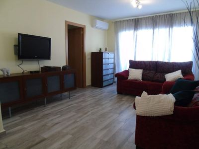 Photo for Villa Mercedes apartment in Torre del Mar with WiFi, air conditioning, balcony & lift.