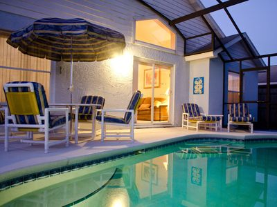 Photo for Luxurious family friendly home, with private pool near Disney!