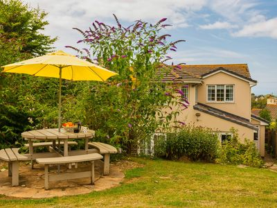 Photo for CROYDE OCEAN VILLA | 4 Bedrooms | Sleeps 9 | Large garden | Pets Welcome