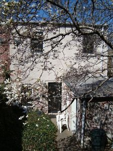 Carriage House Rear View - Spring