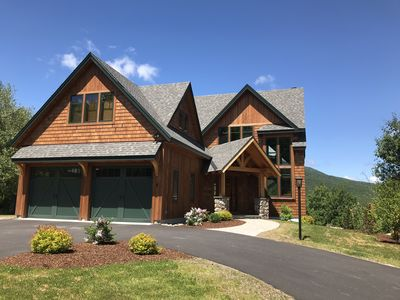 Photo for Beautiful, New Mountain Home with Hot Tub and Breathtaking Mountain Views