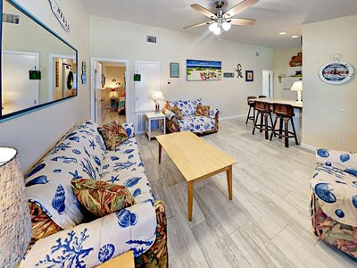 Photo for Cheery Updated 2BR Port Aransas Condo – 2 Blocks to Beach!
