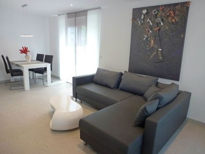 Photo for Nice apartment for 4 guests with A/C, WIFI, TV, balcony and parking