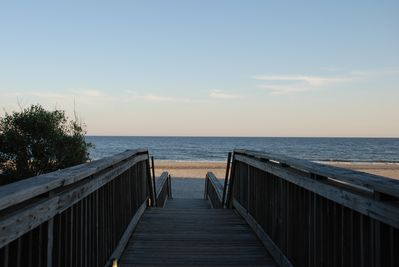 One of the accesses to the 1/2-mile of beach exclusive to Kingston Plantation!