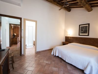 Photo for Economy double room in medieval Tuscan village (202B), 1 floor