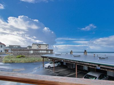 Photo for Elegant condo with beautiful ocean views & nearby beach access!
