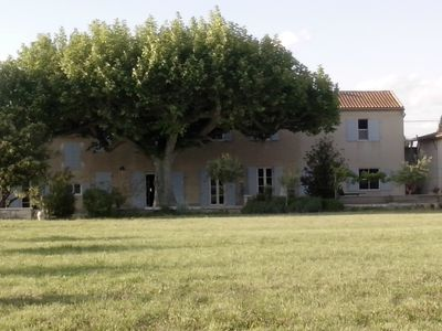 Photo for Large, renovated, peaceful Provencal farmhouse for up to 14 people