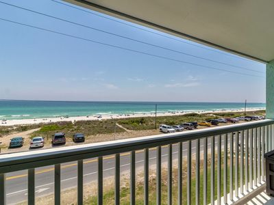 Photo for ROXI'S RETREAT Unobstructed Gulf Views, Large Community Pool!