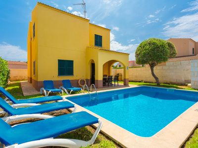 Photo for Villa La Luna: Private Pool, Walk to Beach, A/C, WiFi, Car Not Required