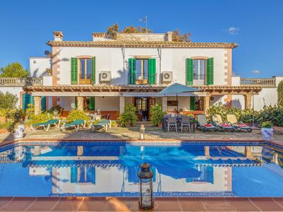Photo for Majorcan Mansion Son Pruners with Pool, Terrace, Air Conditioning & Wi-Fi; Parking Available