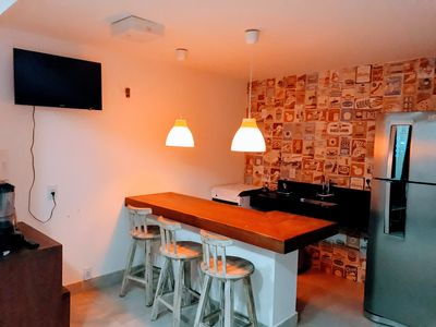 Photo for Luxury Apartment 2 Suites in Pipa (Downtown)