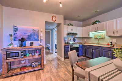 This vacation rental offers all the comforts of home!