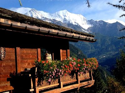Photo for Mountain guide's chalet in the Chamonix valley.