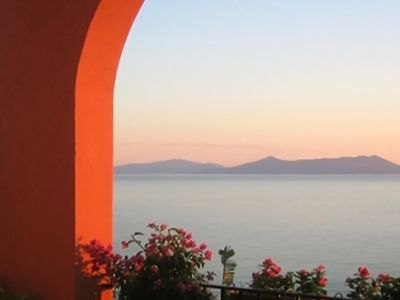 Photo for Apartment in front of the Aeolian Islands Residence