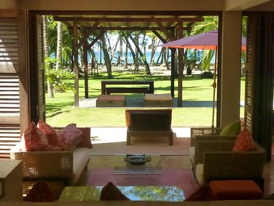Photo for Unrivaled luxury Beachfront Villa- Flexible accommodation 4 to 12 people