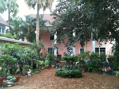 Photo for Tarasita -  Bright and Beautiful Garden Setting on Intracoastal / Lake Worth