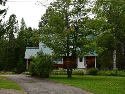Photo for Lovely home on a quiet private road! Minutes from Flagstaff Lake. Sleeps 9