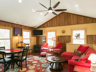 Photo for Gorgeous Home In A Wooded Private Paradise - 7 Miles From Downtown Asheville!