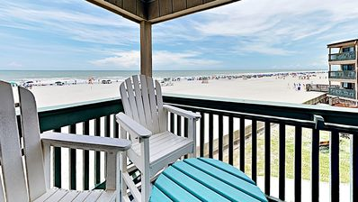 Photo for Great View, Ocean Front Seashore  Views